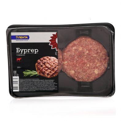 Бургер говяжий Лента