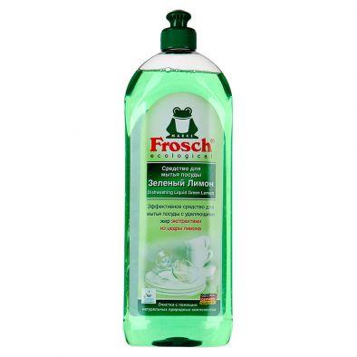 Средство для мытья посуды Frosch Зеленый Лимон