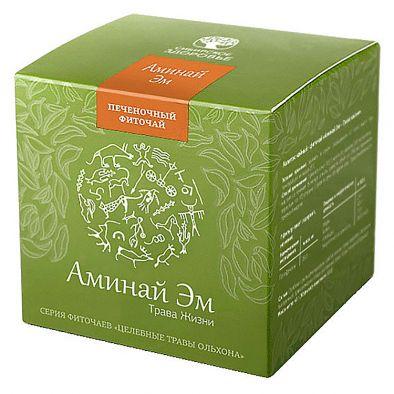 Напиток чайный — фиточай Аминай Эм — Трава жизни