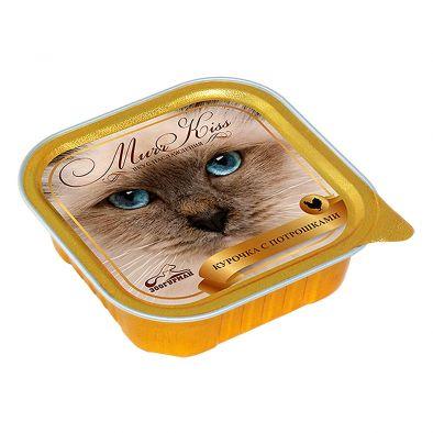 Корм для кошек МуррКисс мясной консервированный Курочка с потрошками