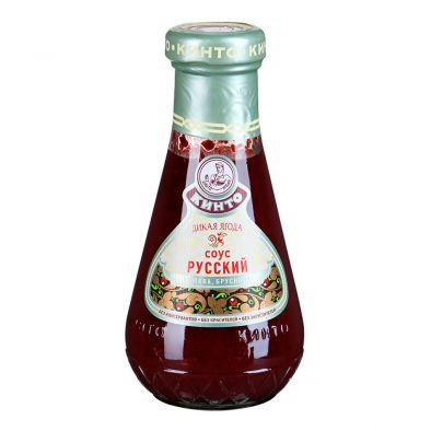 Соус фруктовый КИНТО Русский Дикая ягода клюква, брусника
