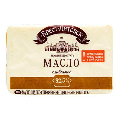 Масло сливочное Савушкин продукт Брест-Литовск Знатный