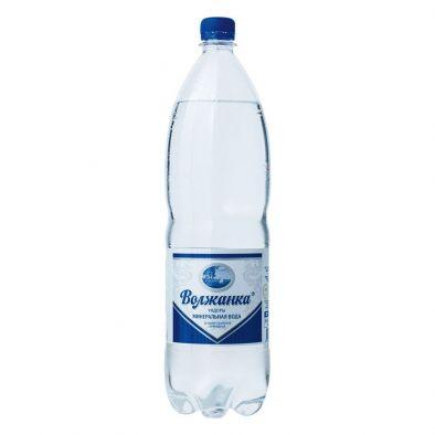 Вода минеральная Волжанка лечебно-столовая природная газированная