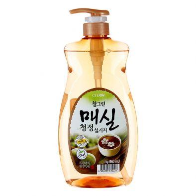 Средство для мытья посуды, овощей и фруктов Cj Lion — Японский абрикос