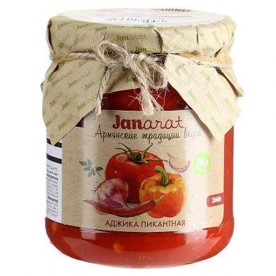 Аджика пикантная Janarat Армянские традиции вкуса