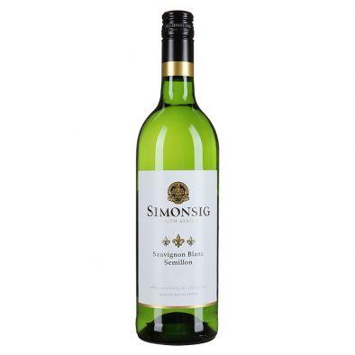 Вино Симонсиг Совиньон Блан-Семийон белое сухое