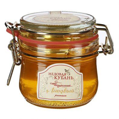 Мед Медовая кубань натуральный липовый premium