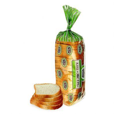 Хлеб Экстра формовой, нарезанный, в упаковке