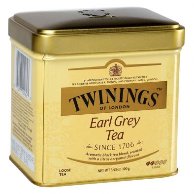 Чай Twinings Эрл Грэй черный байховый с ароматом бергамота