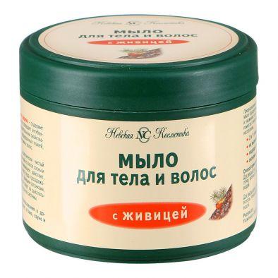 Мыло Невская косметика для тела и волос с живицей