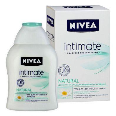 Гель NIVEA для интимной гигиены intimate NATURAL