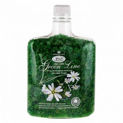 Соль для ванн Грин Лайн луговые травы