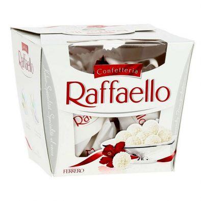 Конфеты Раффаэлло с цельным миндальным орехом в кокосовой обсыпке