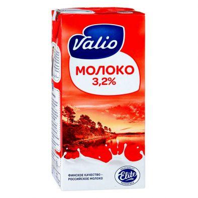 Молоко Valio питьевое ультравысокотемпературно-обработанное (UHT) 3,2%