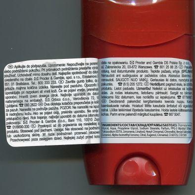 Состав твердый дезодорант Old Spice WhiteWater