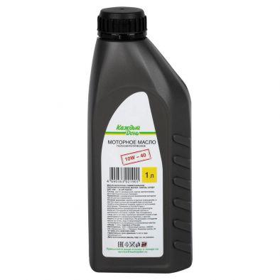 Масло моторное Каждый день SINTOIL СУПЕР SAE 10W-40 API SG/CD универсальное полусинтетическое