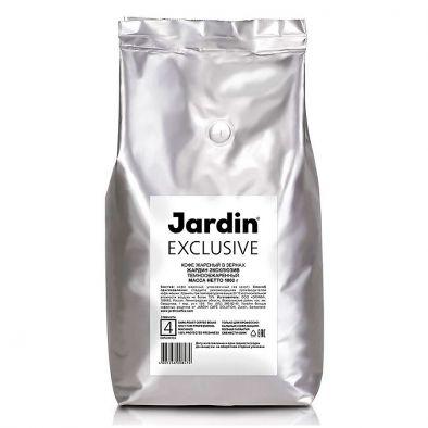 Кофе жареный в зернах Jardin Exclusive темнообжаренный