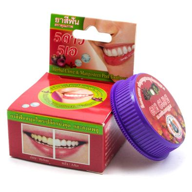 Зубной порошок с травами (отбеливающий)