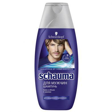 Шампунь Schauma для мужчин сила и объем с хмелем
