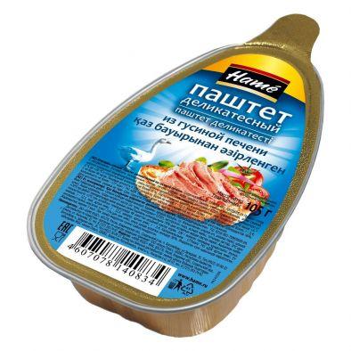 Консервы мясные паштетные Hame. Паштет деликатесный из гусиной печени