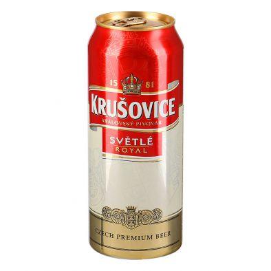 Пиво светлое пастеризованное Крушовице Светле