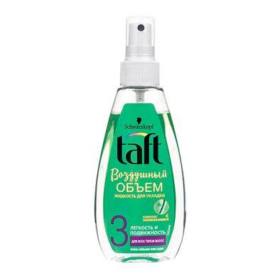 Этикетка жидкость для укладки Taft Воздушный объем